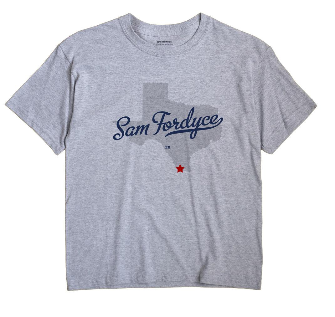Sam Fordyce, Texas TX Souvenir Shirt