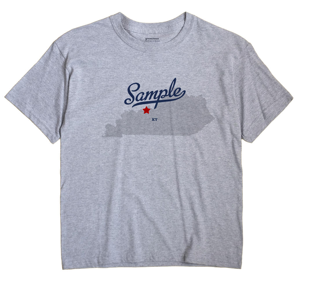 Sample, Kentucky KY Souvenir Shirt