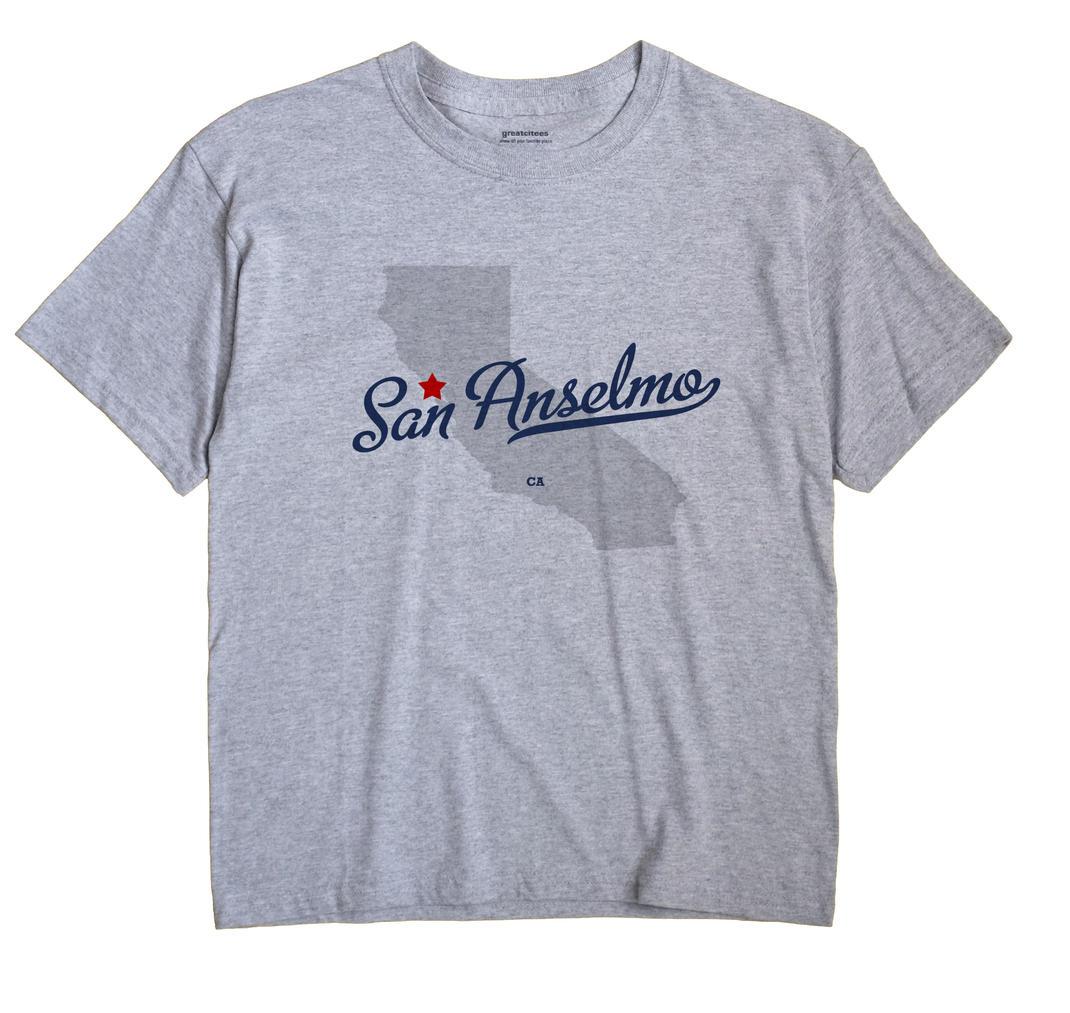 San Anselmo, California CA Souvenir Shirt