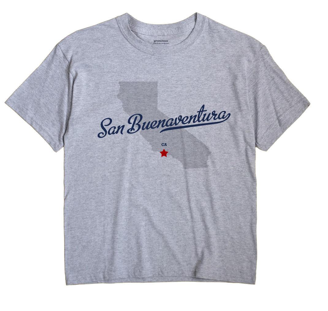 San Buenaventura, California CA Souvenir Shirt