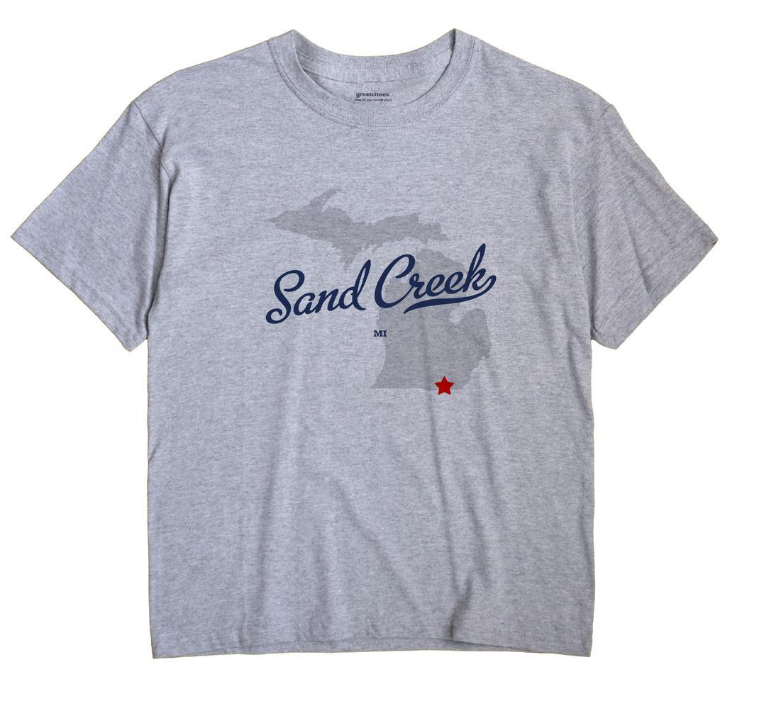 Sand Creek, Michigan MI Souvenir Shirt