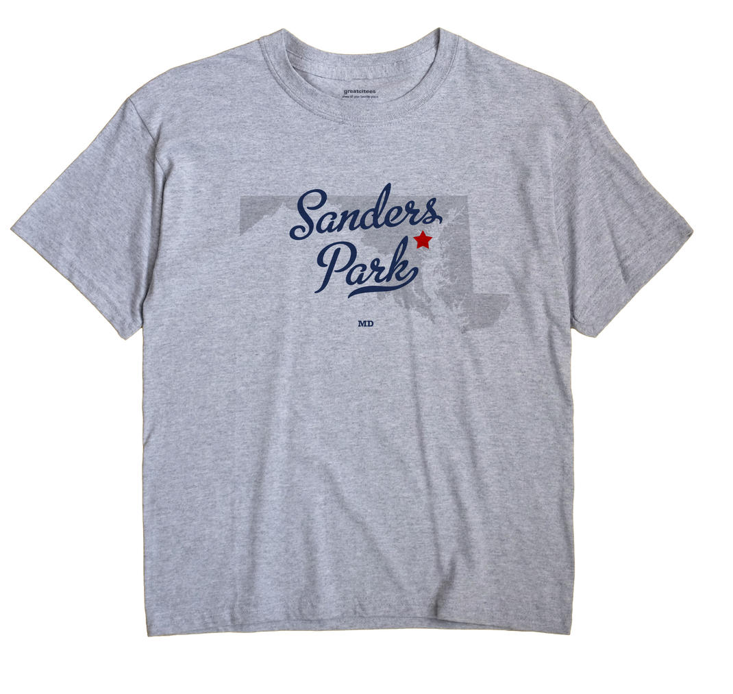 Sanders Park, Maryland MD Souvenir Shirt