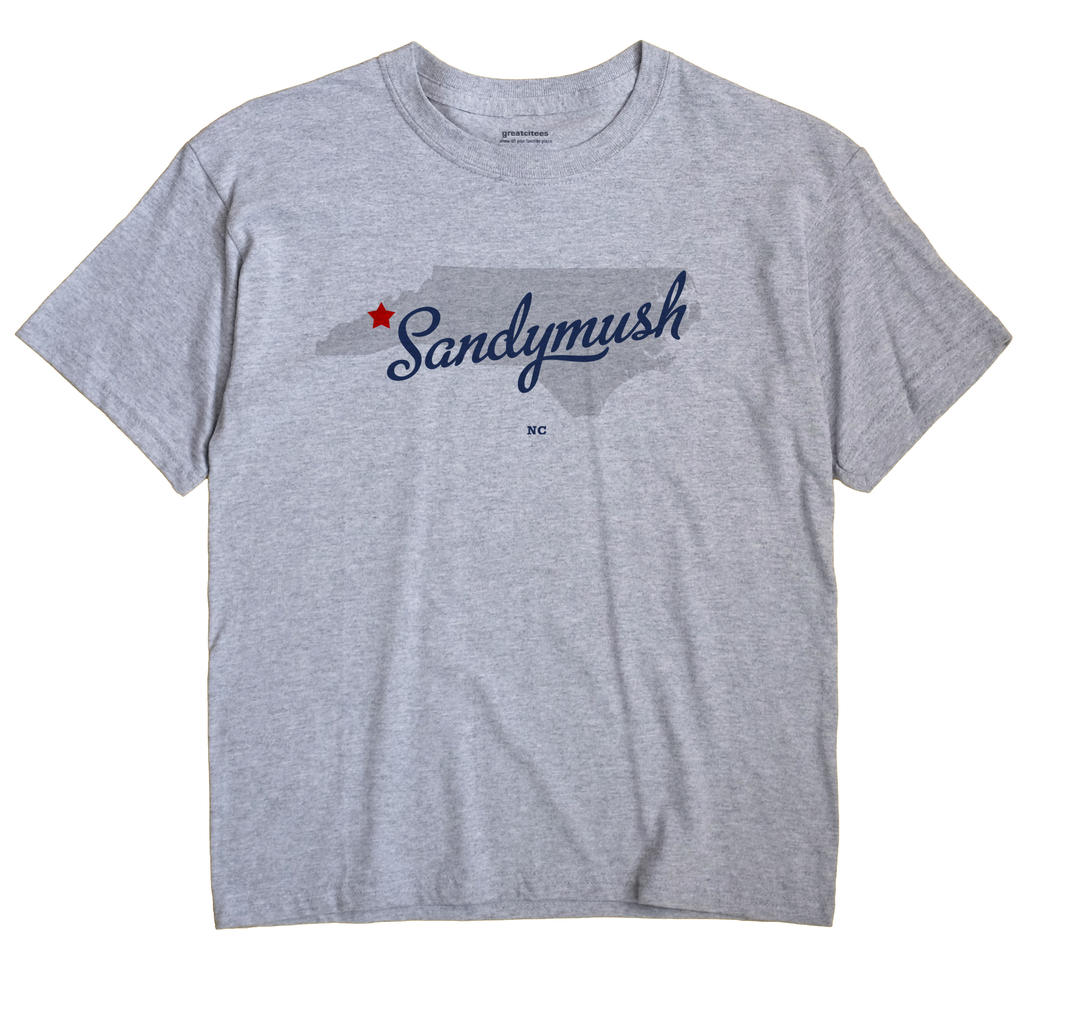 Sandymush, North Carolina NC Souvenir Shirt