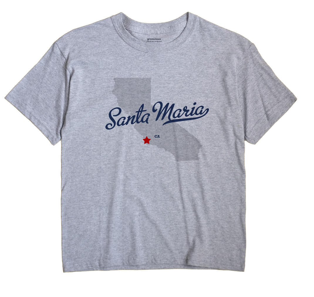 Santa Maria, California CA Souvenir Shirt