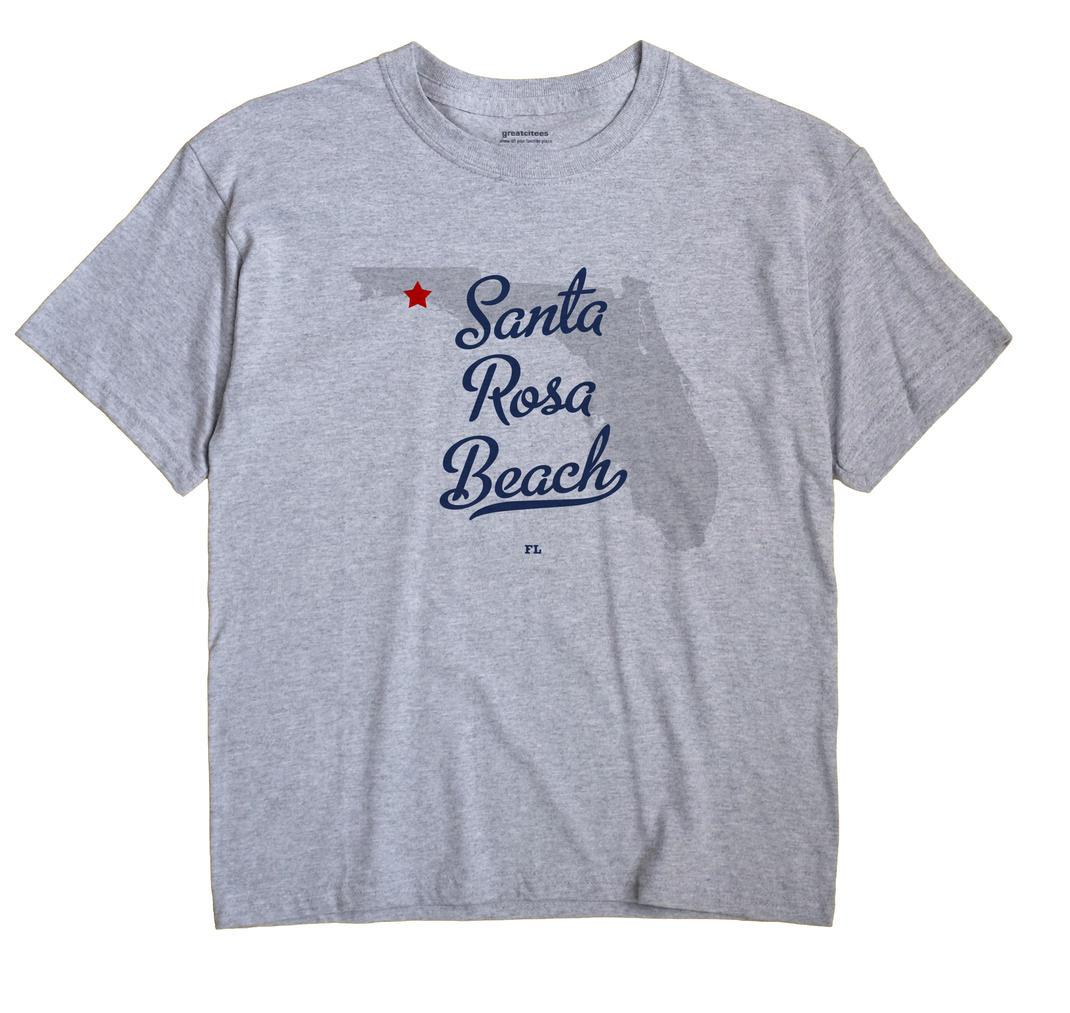 Santa Rosa Beach, Florida FL Souvenir Shirt