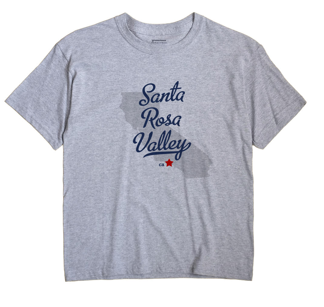 Santa Rosa Valley, California CA Souvenir Shirt