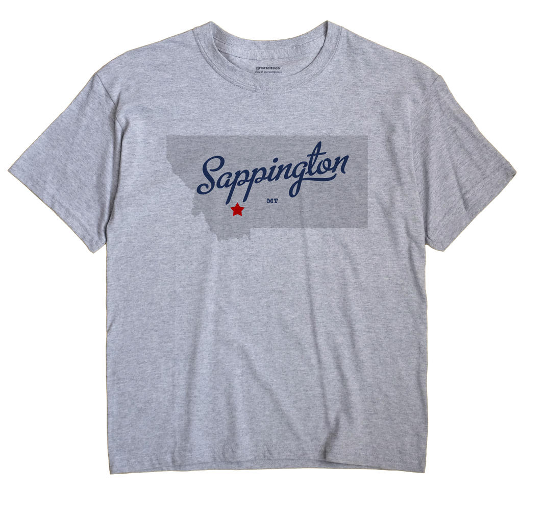 Sappington, Montana MT Souvenir Shirt