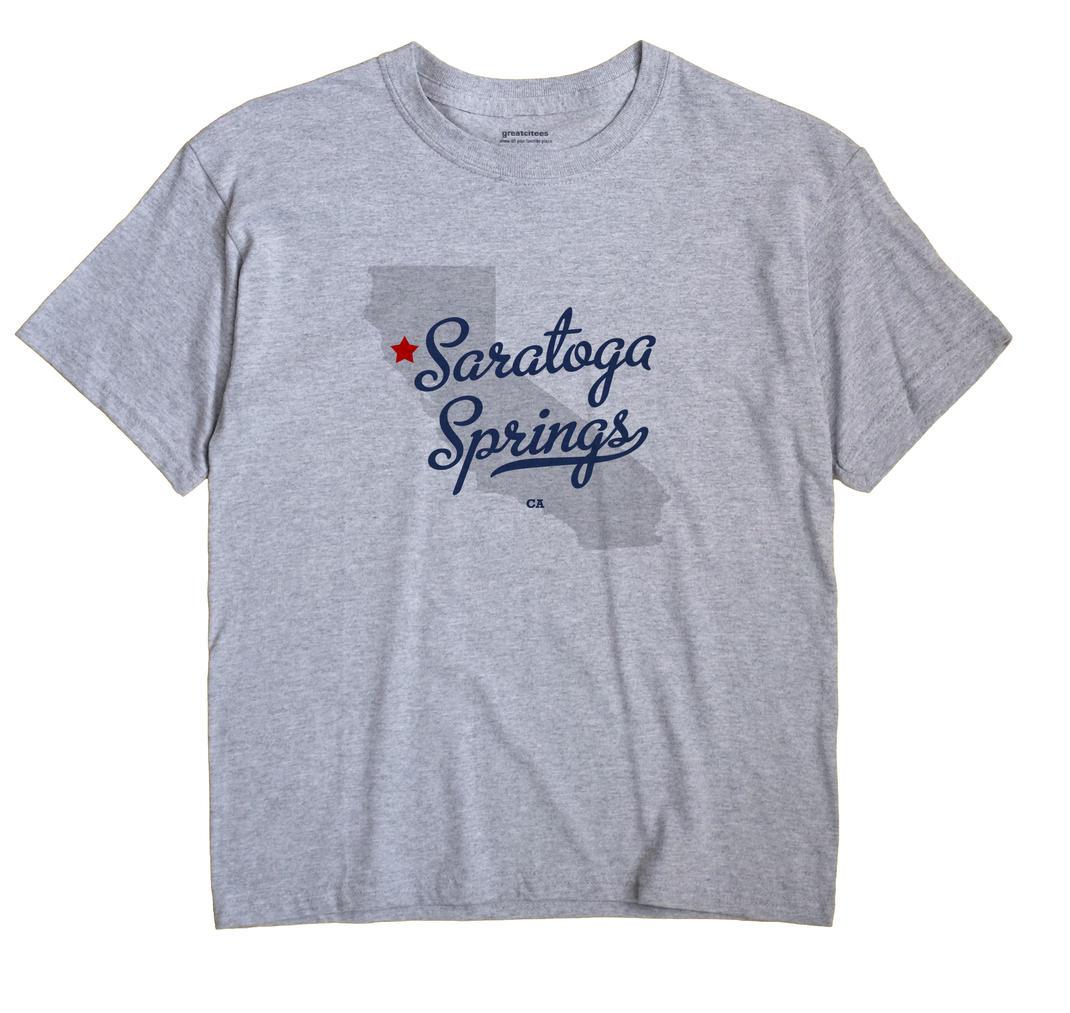 Saratoga Springs, California CA Souvenir Shirt