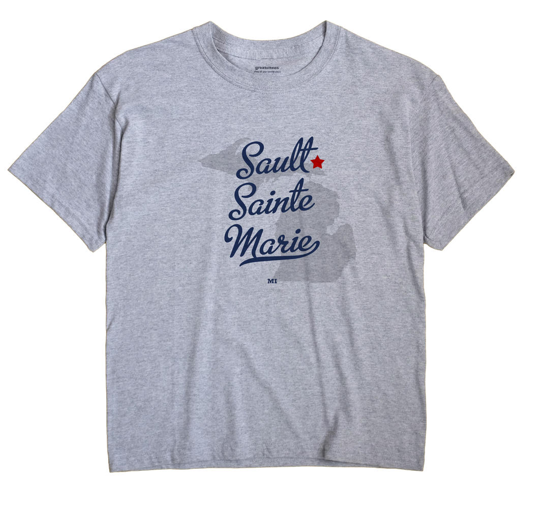 Sault Sainte Marie, Michigan MI Souvenir Shirt