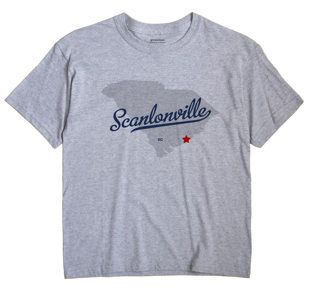 Scanlonville, South Carolina SC Souvenir Shirt