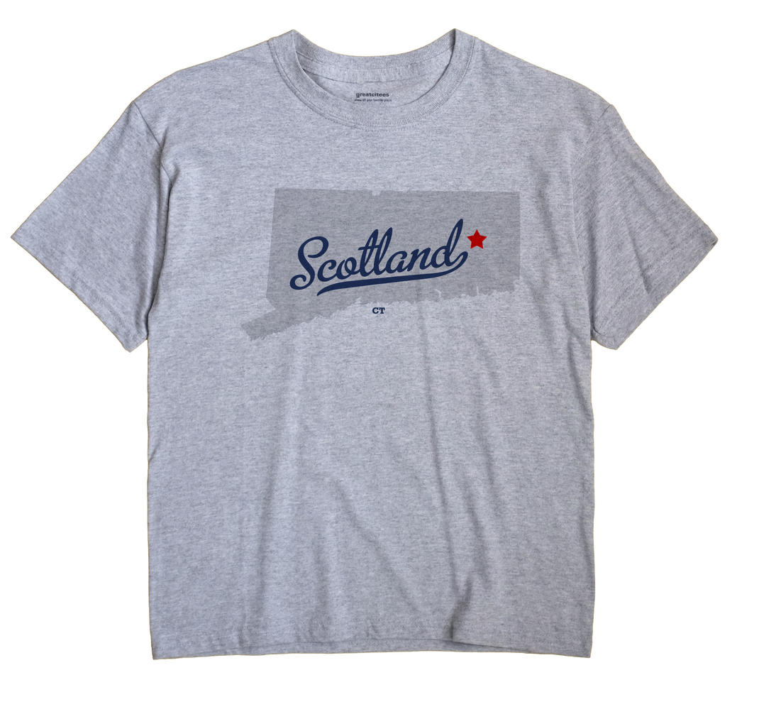 Scotland, Connecticut CT Souvenir Shirt