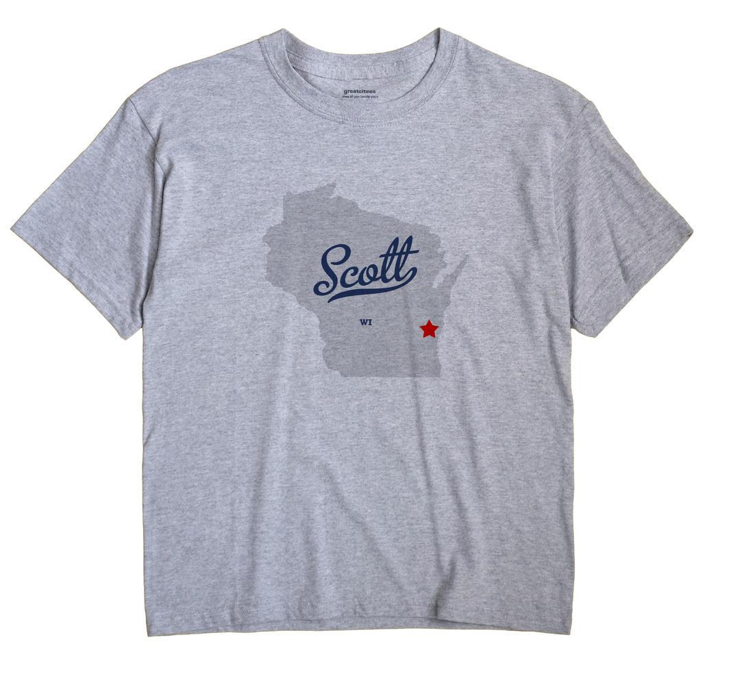 Scott, Sheboygan County, Wisconsin WI Souvenir Shirt