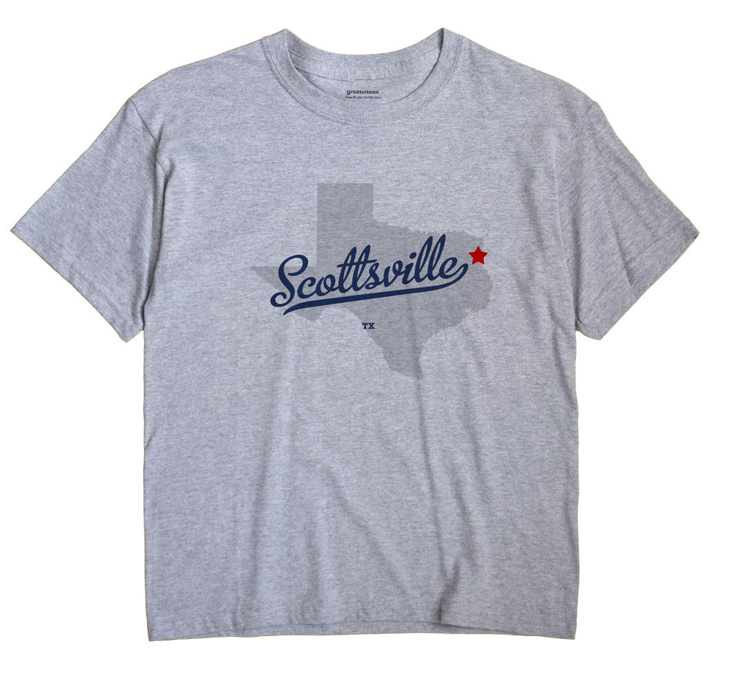 Scottsville, Texas TX Souvenir Shirt