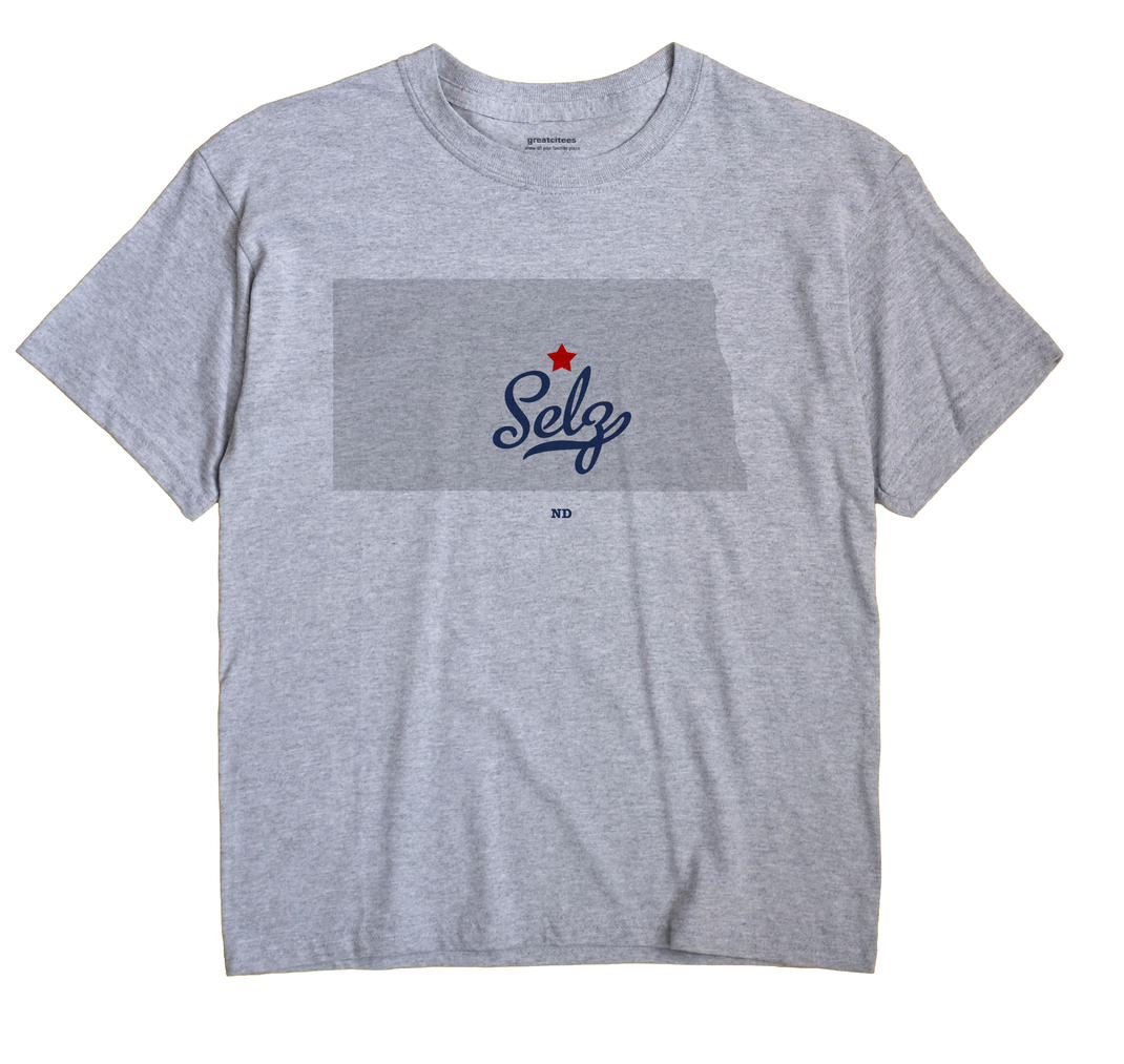 Selz, North Dakota ND Souvenir Shirt