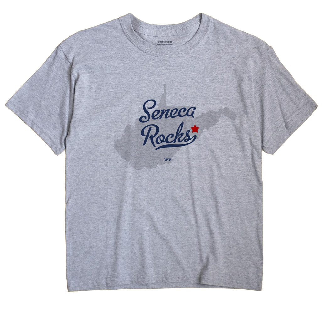 Seneca Rocks, West Virginia WV Souvenir Shirt