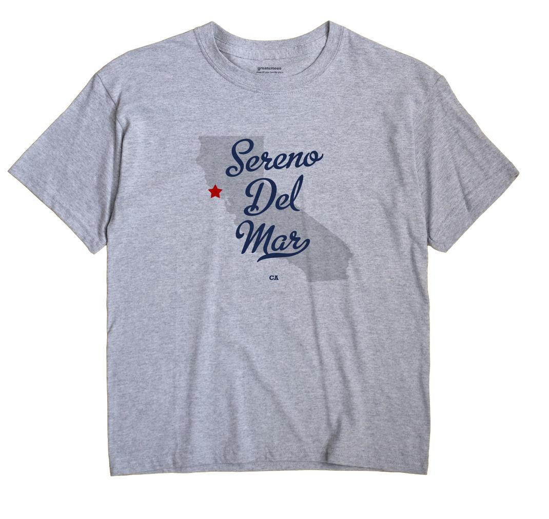 Sereno Del Mar, California CA Souvenir Shirt