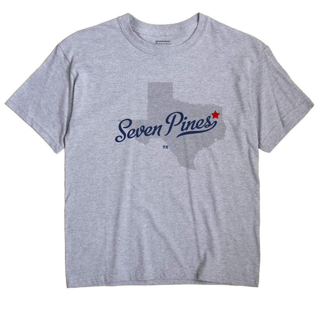 Seven Pines, Texas TX Souvenir Shirt