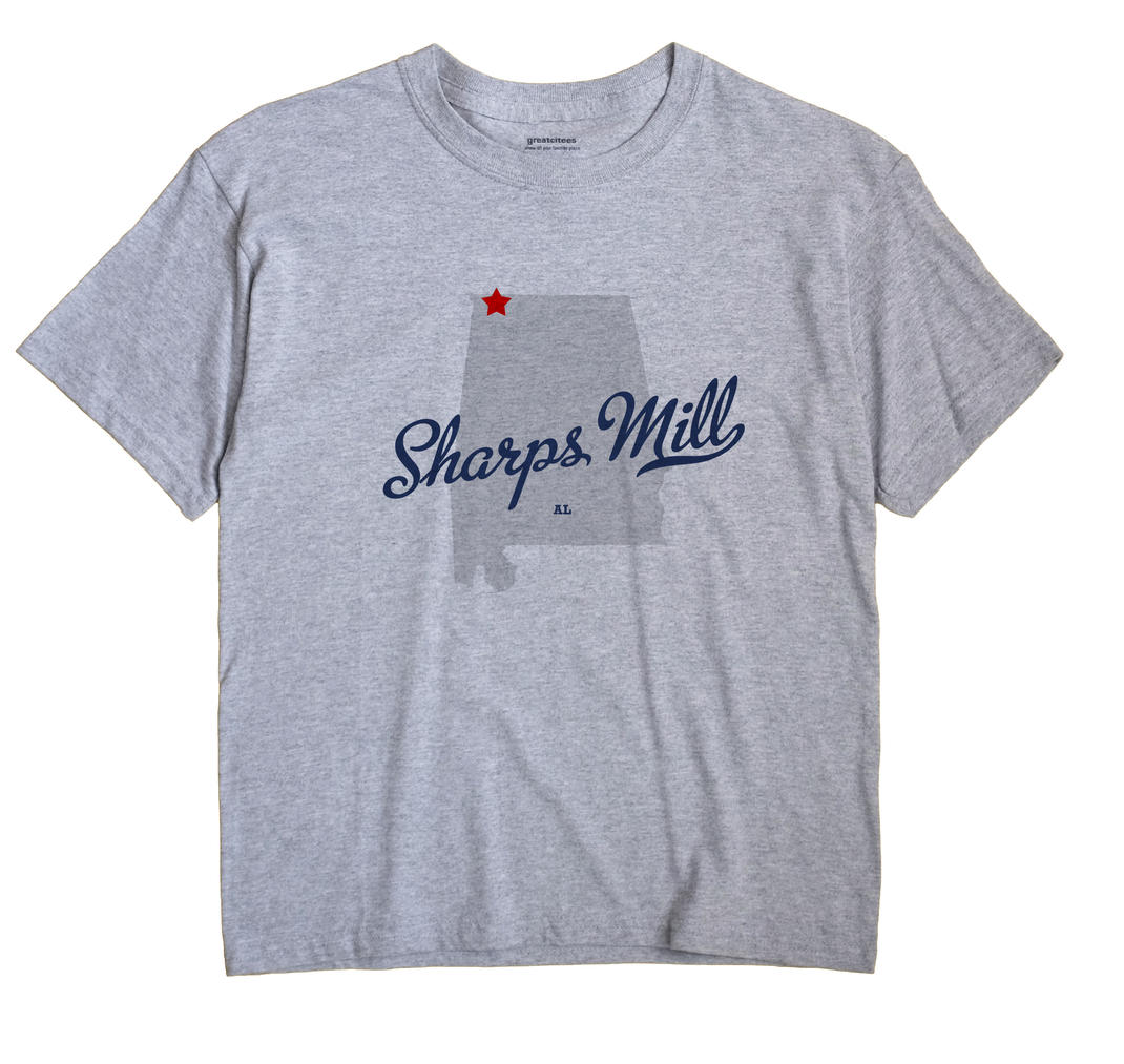 Sharps Mill, Alabama AL Souvenir Shirt