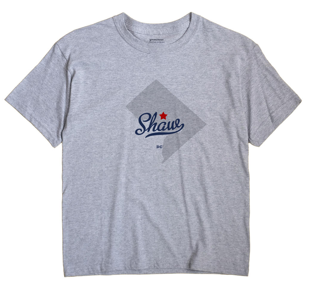 Shaw, District Of Columbia DC Souvenir Shirt