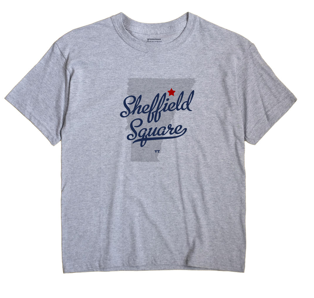 Sheffield Square, Vermont VT Souvenir Shirt