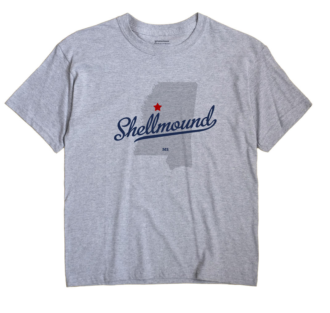 Shellmound, Mississippi MS Souvenir Shirt