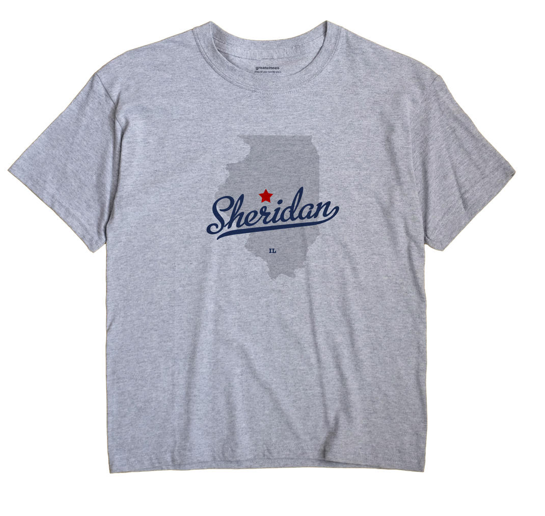 Sheridan, Logan County, Illinois IL Souvenir Shirt