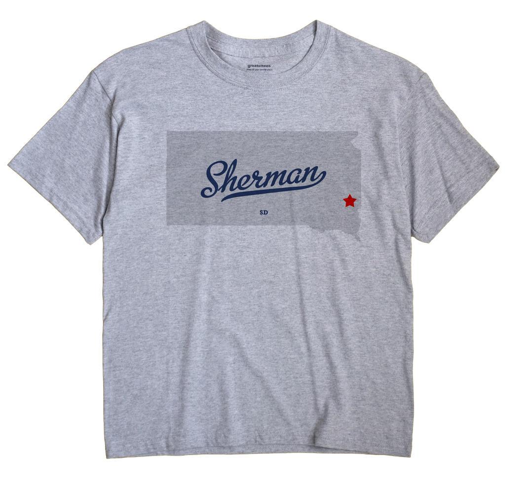Sherman, Minnehaha County, South Dakota SD Souvenir Shirt