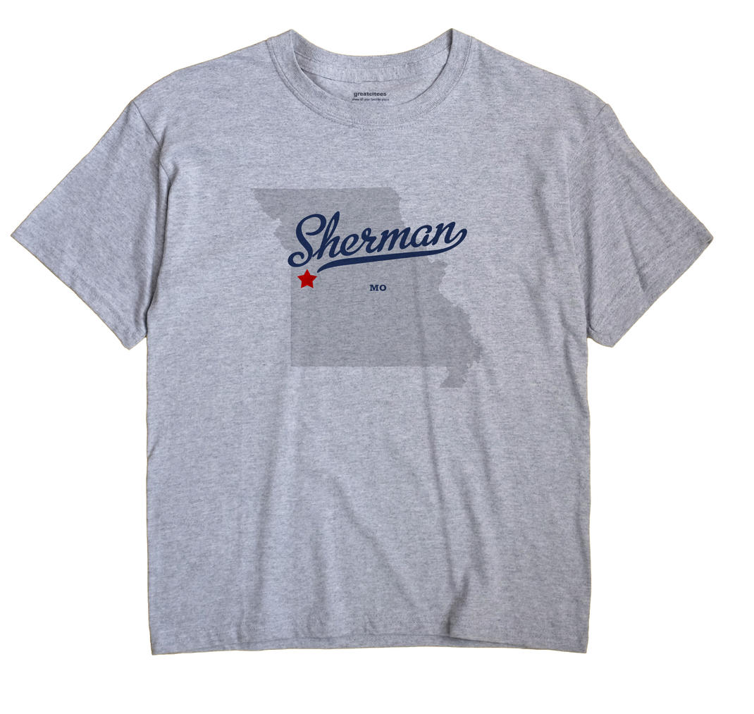 Sherman, Cass County, Missouri MO Souvenir Shirt