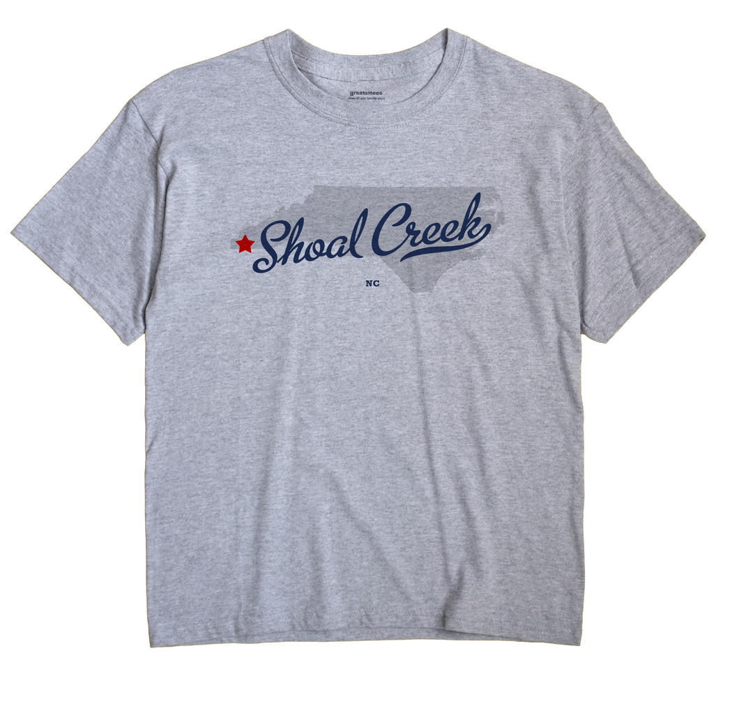 Shoal Creek, North Carolina NC Souvenir Shirt