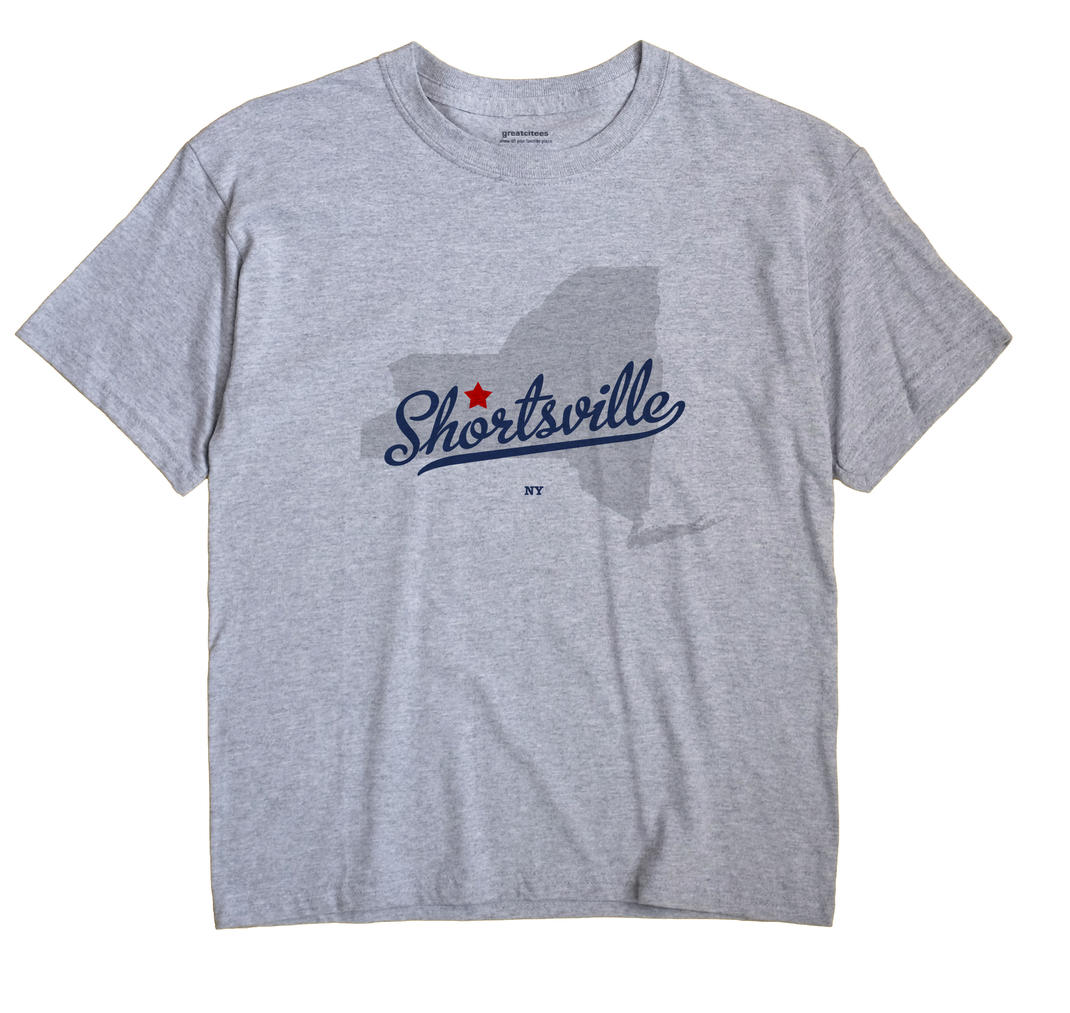 Shortsville, New York NY Souvenir Shirt