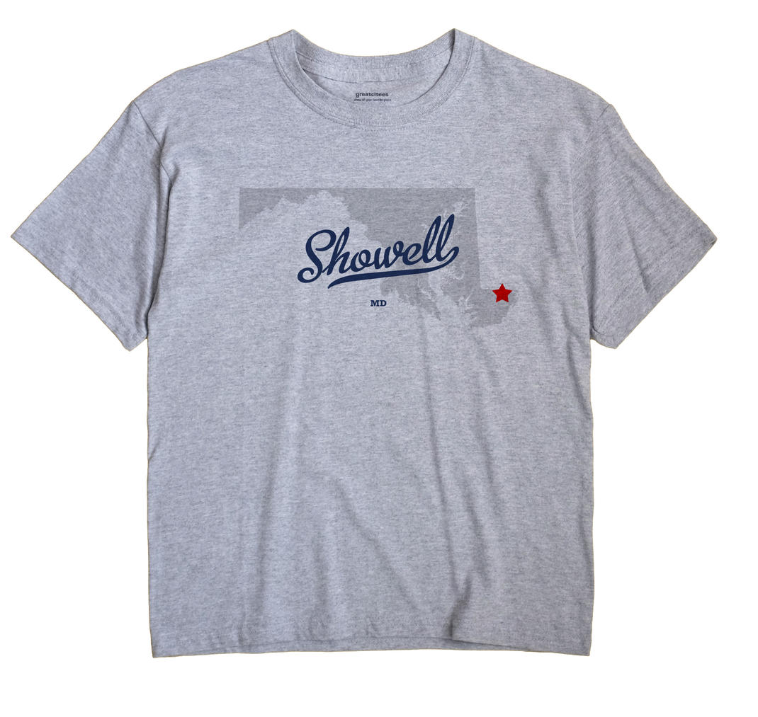 Showell, Maryland MD Souvenir Shirt