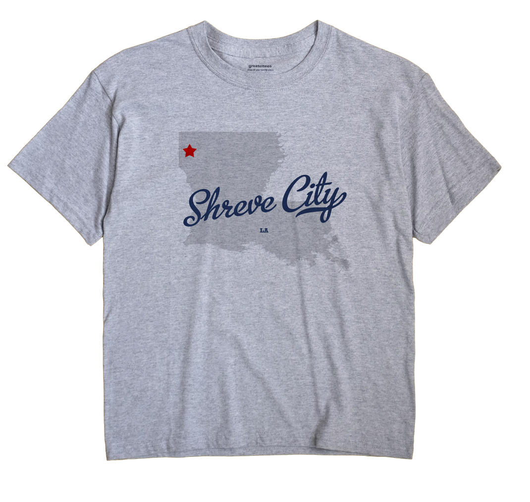 Shreve City, Louisiana LA Souvenir Shirt