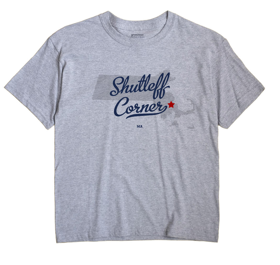 Shutleff Corner, Massachusetts MA Souvenir Shirt