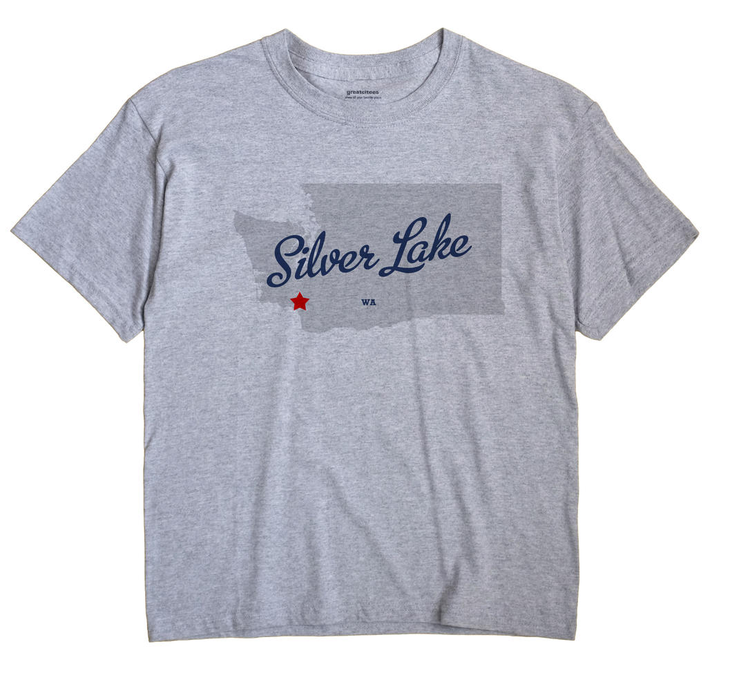Silver Lake, Washington WA Souvenir Shirt