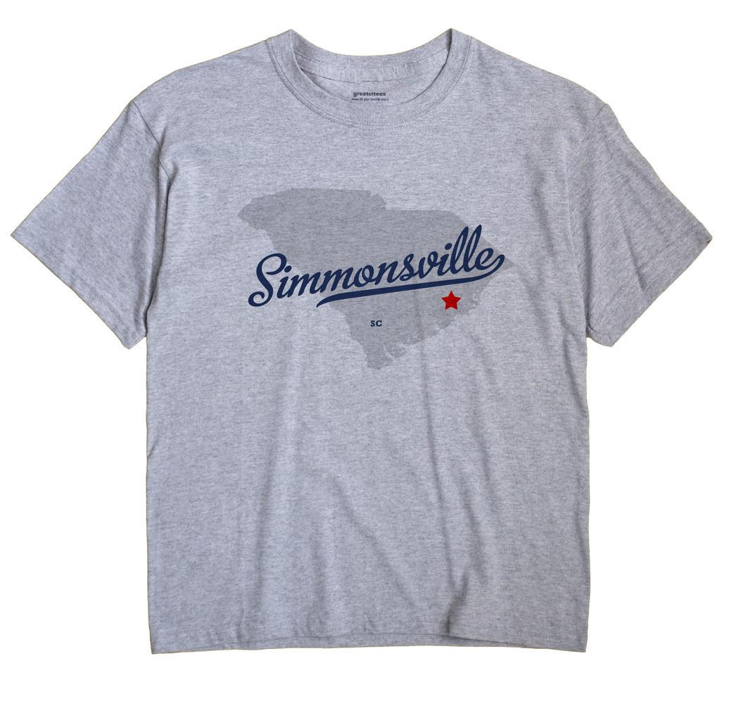 Simmonsville, South Carolina SC Souvenir Shirt