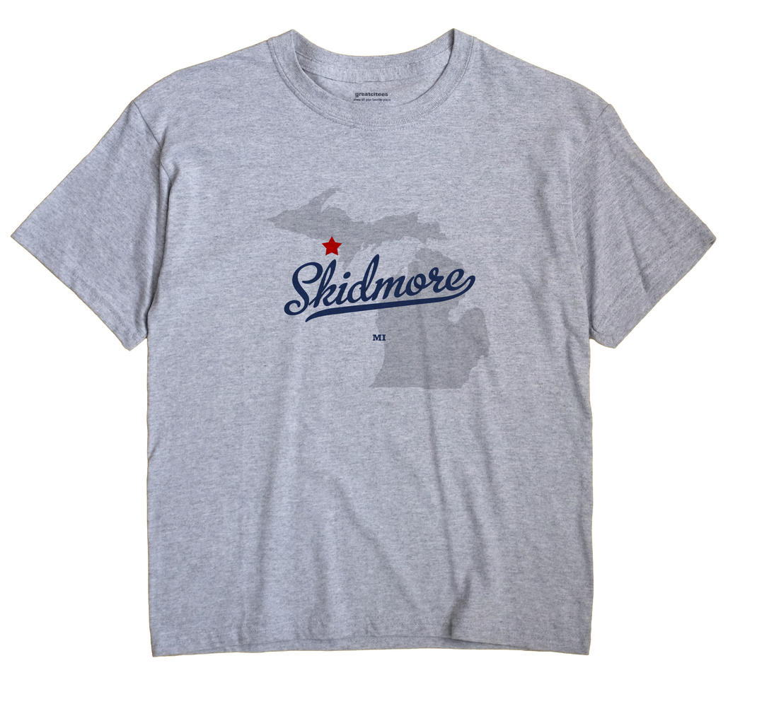 Skidmore, Michigan MI Souvenir Shirt