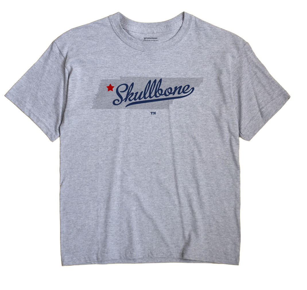 Skullbone, Tennessee TN Souvenir Shirt