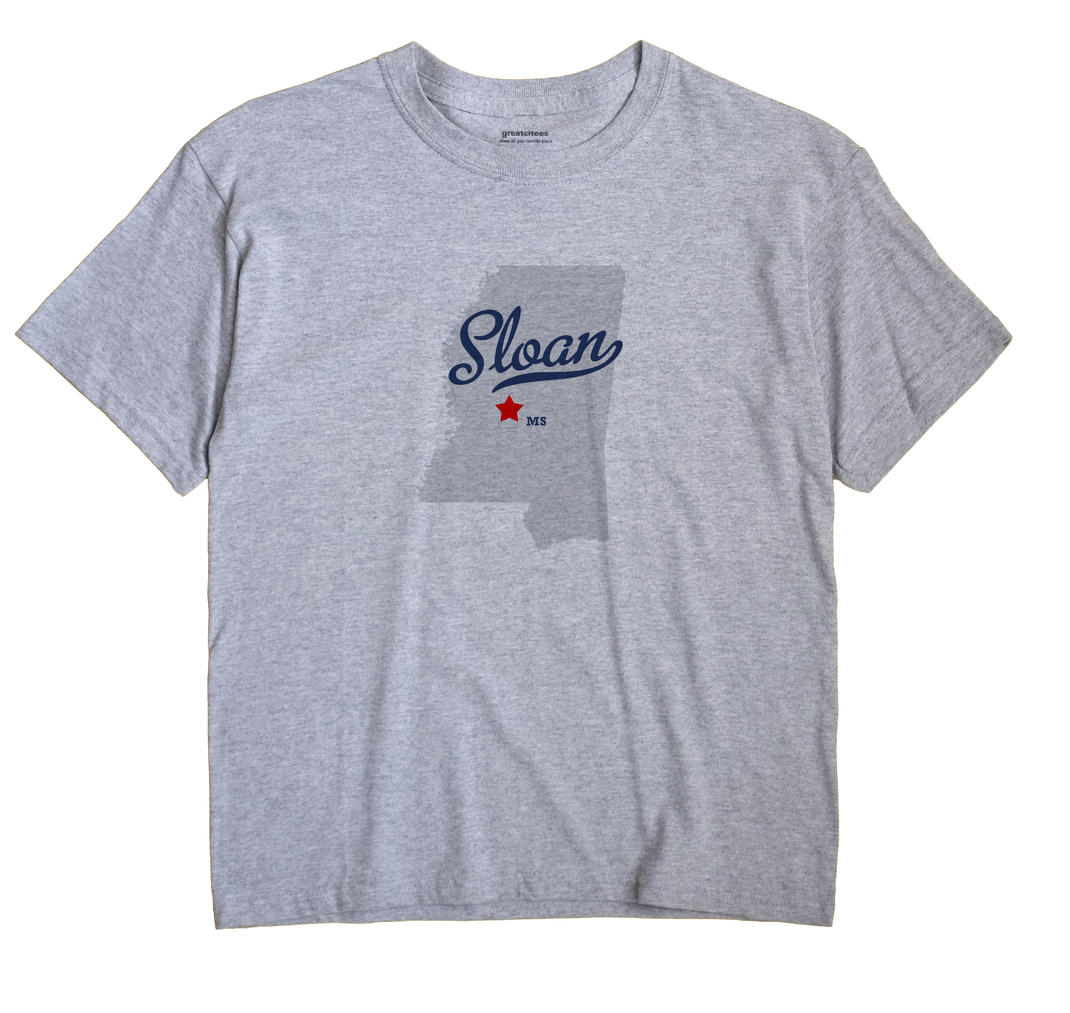 Sloan, Mississippi MS Souvenir Shirt
