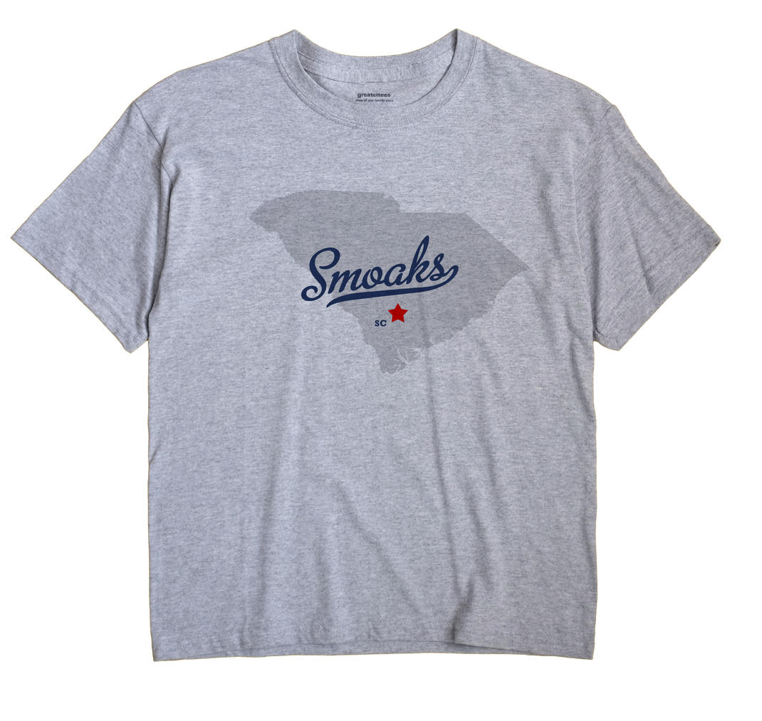 Smoaks, South Carolina SC Souvenir Shirt