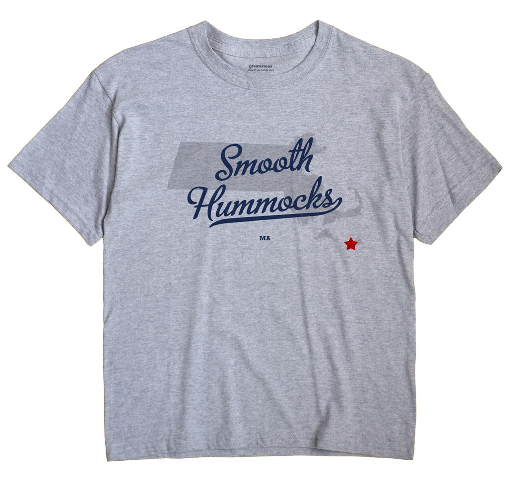 Smooth Hummocks, Massachusetts MA Souvenir Shirt