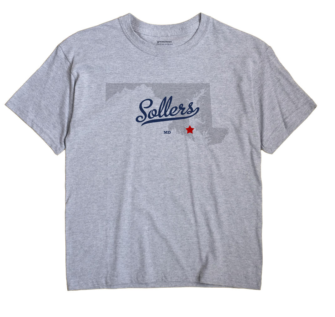 Sollers, Maryland MD Souvenir Shirt