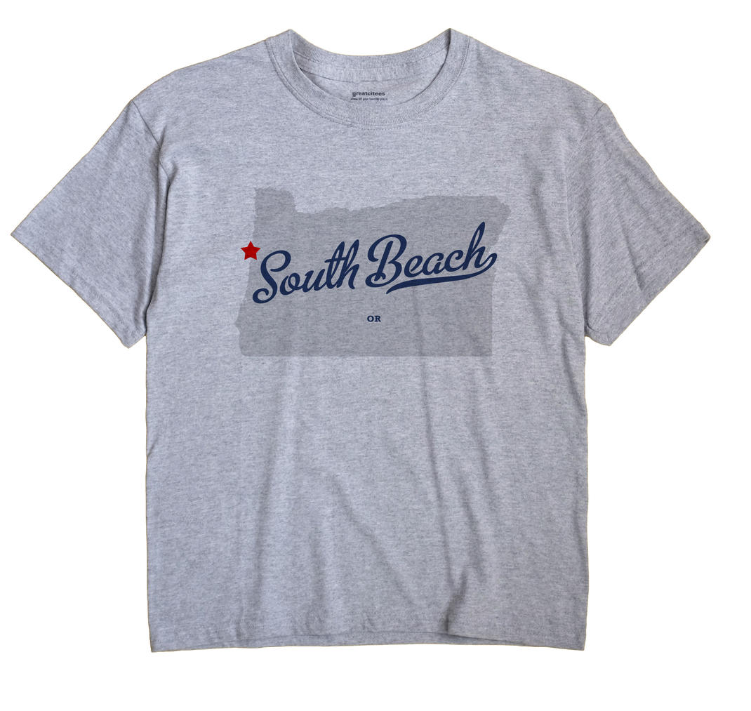 South Beach, Oregon OR Souvenir Shirt