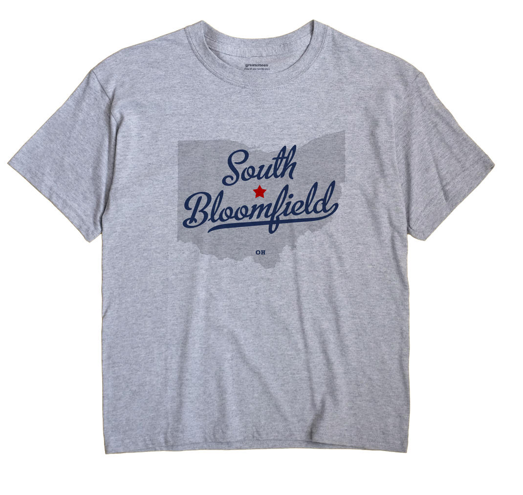 South Bloomfield, Morrow County, Ohio OH Souvenir Shirt