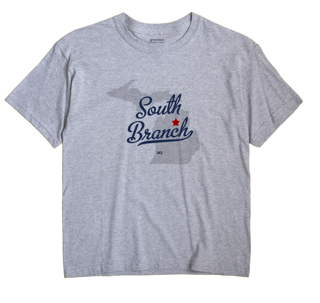 South Branch, Crawford County, Michigan MI Souvenir Shirt