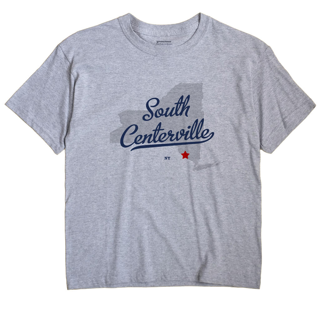 South Centerville, New York NY Souvenir Shirt
