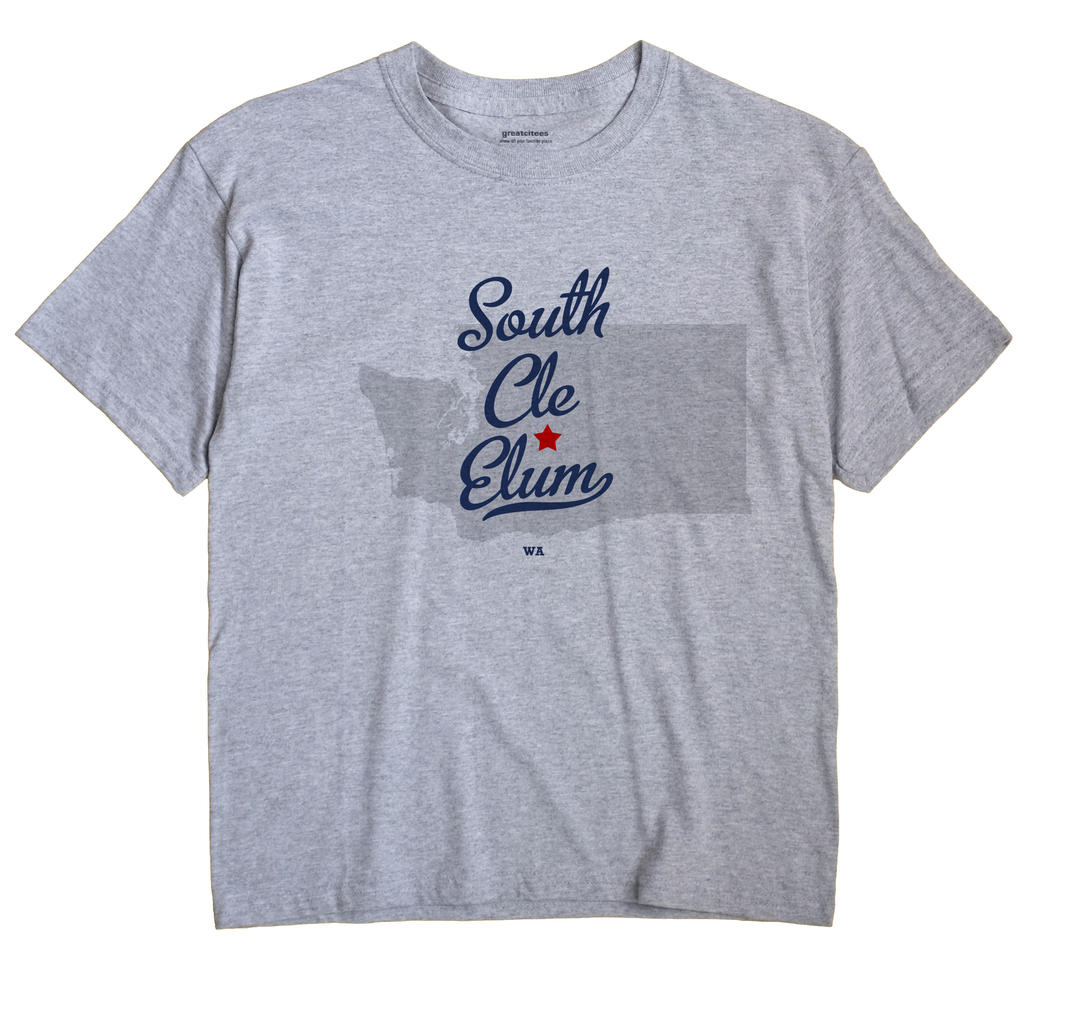 South Cle Elum, Washington WA Souvenir Shirt
