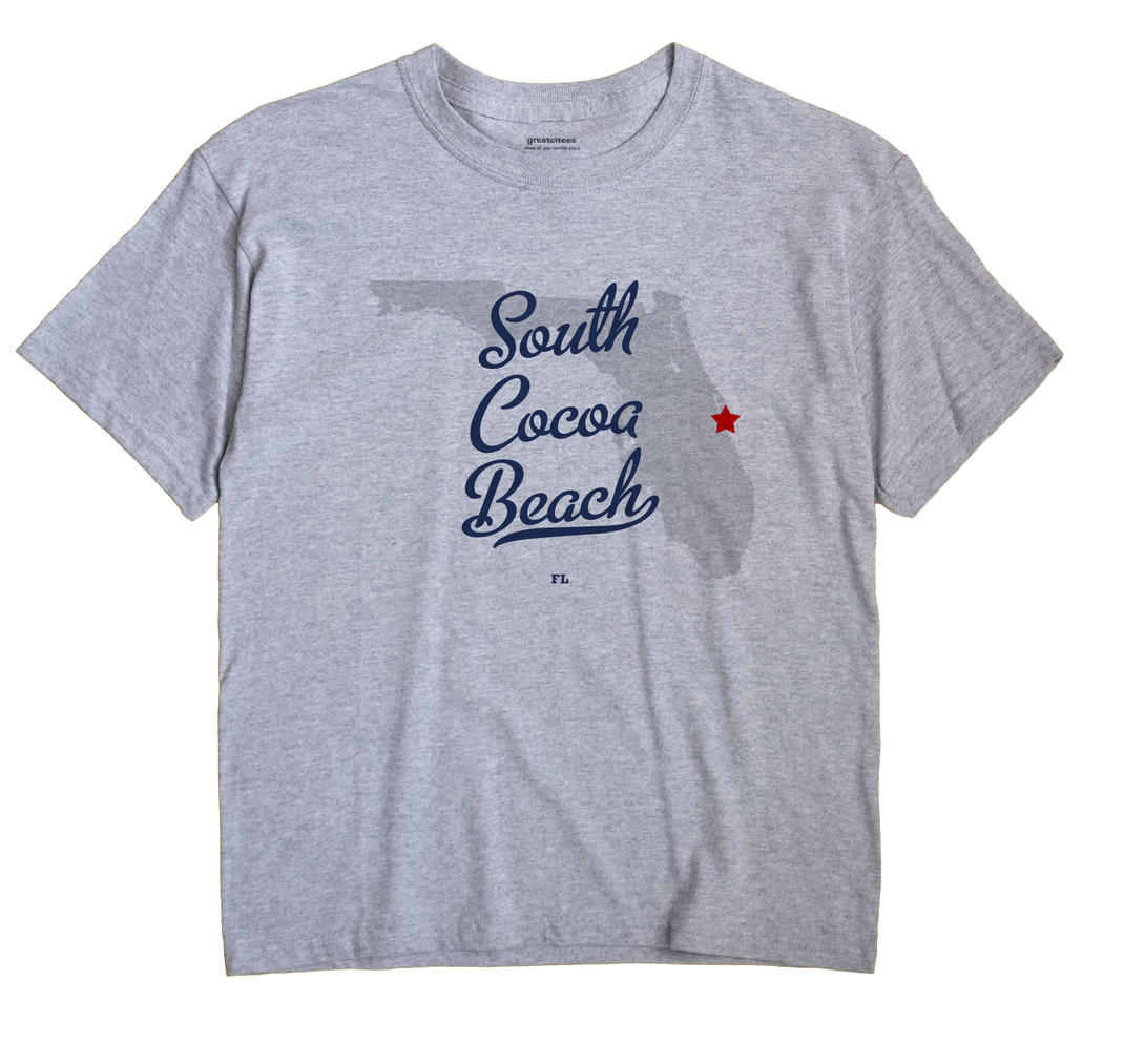 South Cocoa Beach, Florida FL Souvenir Shirt