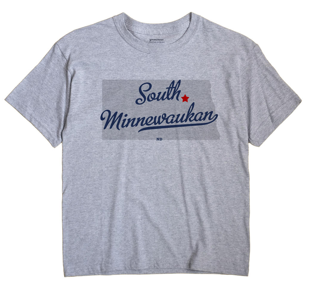 South Minnewaukan, North Dakota ND Souvenir Shirt