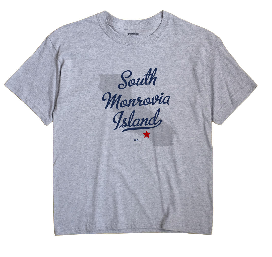South Monrovia Island, California CA Souvenir Shirt