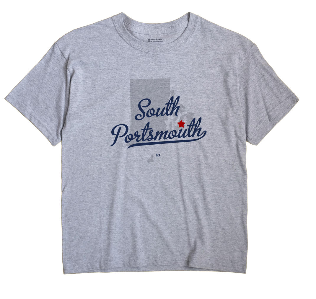 South Portsmouth, Rhode Island RI Souvenir Shirt